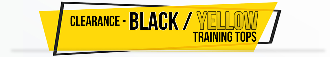 black yellow banner